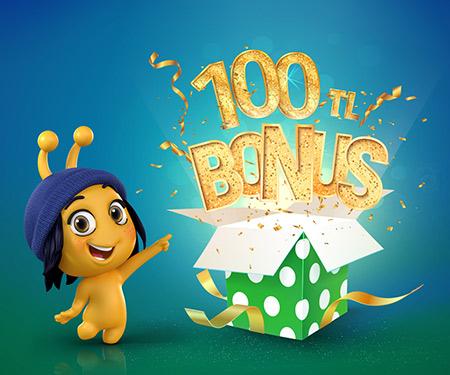 turkcell.com.tr'de 100 TL bonus