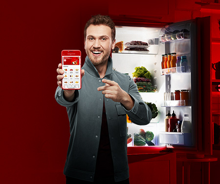 Vodafone Süper Market Yanımda'da <br> 50 TL'ye varan bonus!