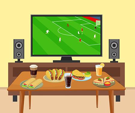 Maç günleri online yemek siparişlerine %10 bonus!